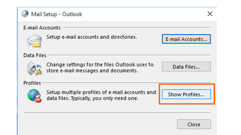 Get Started With a New Outlook Profile 2
