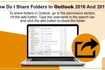Share Folders in Outlook