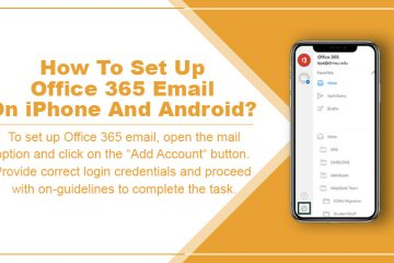Set up MS Office 365 Email