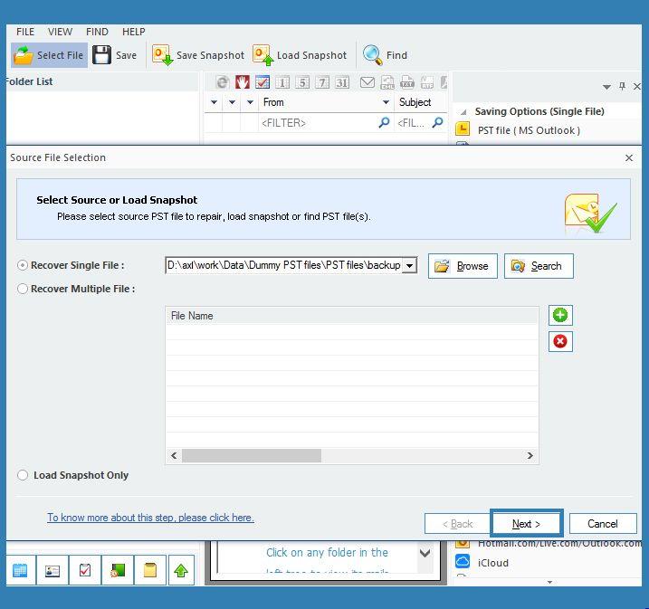 Kernel Outlook PST Repair