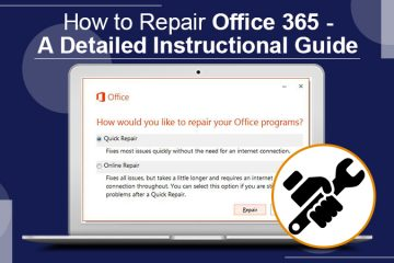 How to Repair Office 365