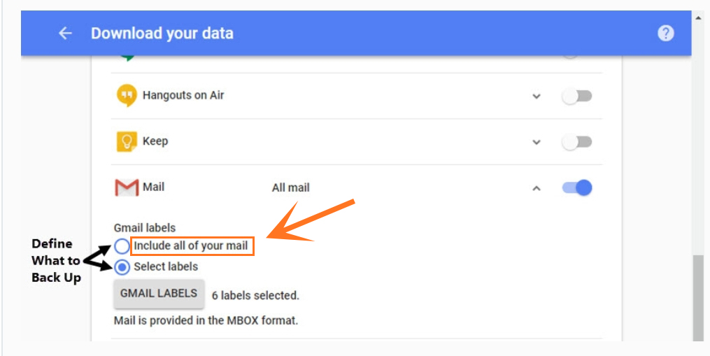 Export Emails From Gmail As Mbox Files